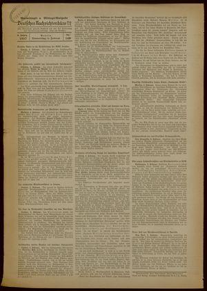 Deutsches Nachrichtenbüro vom 04.02.1937