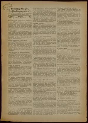 Deutsches Nachrichtenbüro vom 08.02.1937