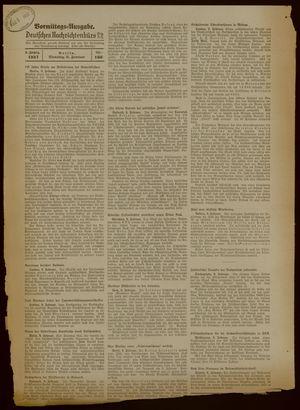 Deutsches Nachrichtenbüro vom 09.02.1937