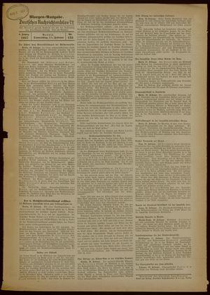 Deutsches Nachrichtenbüro vom 11.02.1937