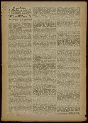 Deutsches Nachrichtenbüro vom 13.02.1937