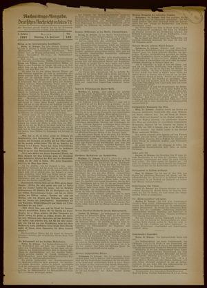 Deutsches Nachrichtenbüro vom 15.02.1937