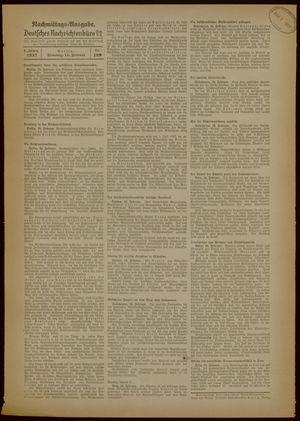 Deutsches Nachrichtenbüro vom 16.02.1937