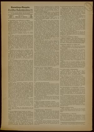 Deutsches Nachrichtenbüro on Feb 17, 1937