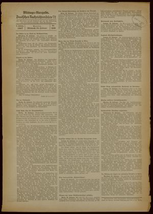 Deutsches Nachrichtenbüro vom 24.02.1937
