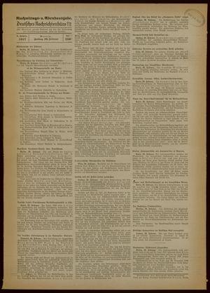 Deutsches Nachrichtenbüro vom 26.02.1937