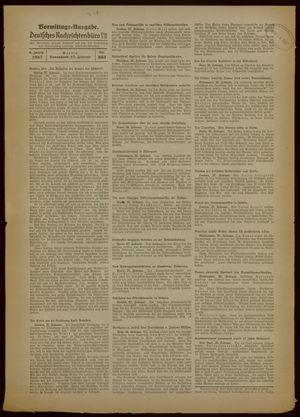 Deutsches Nachrichtenbüro vom 27.02.1937