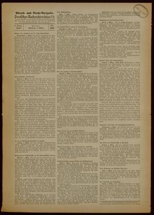 Deutsches Nachrichtenbüro vom 01.03.1937