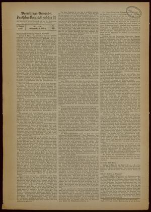 Deutsches Nachrichtenbüro vom 03.03.1937