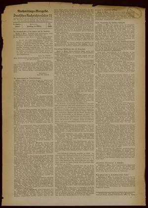 Deutsches Nachrichtenbüro vom 05.03.1937