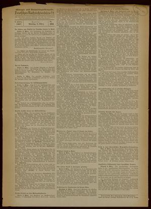Deutsches Nachrichtenbüro vom 08.03.1937
