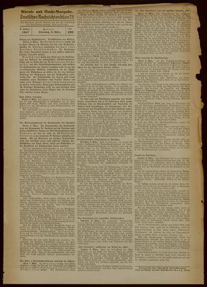 Deutsches Nachrichtenbüro vom 09.03.1937