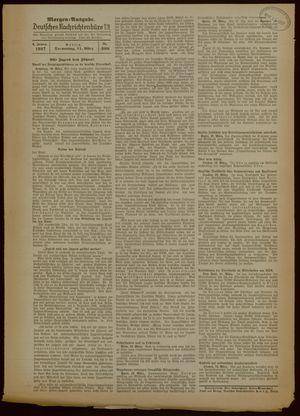 Deutsches Nachrichtenbüro vom 11.03.1937