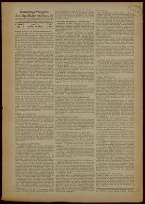 Deutsches Nachrichtenbüro vom 12.03.1937