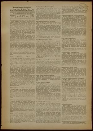 Deutsches Nachrichtenbüro vom 13.03.1937
