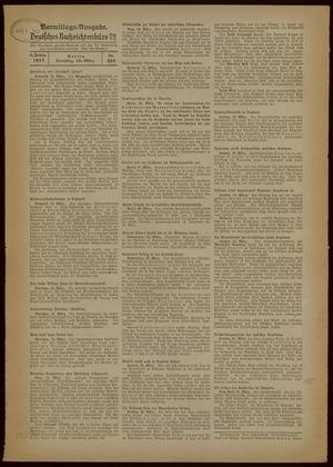 Deutsches Nachrichtenbüro vom 16.03.1937