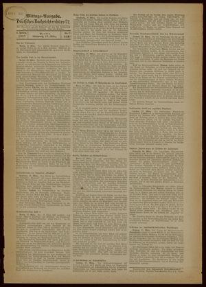 Deutsches Nachrichtenbüro vom 17.03.1937