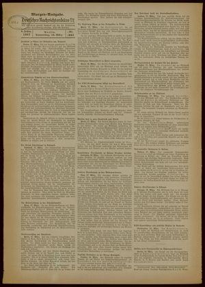 Deutsches Nachrichtenbüro vom 18.03.1937