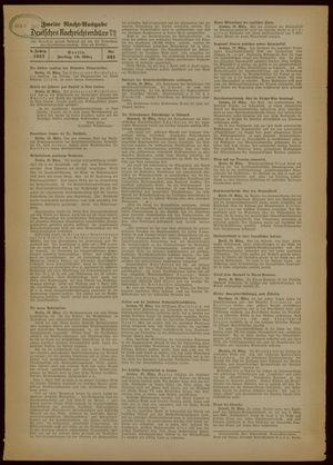 Deutsches Nachrichtenbüro vom 19.03.1937
