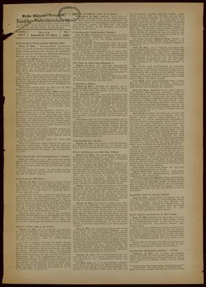 Deutsches Nachrichtenbüro vom 27.03.1937