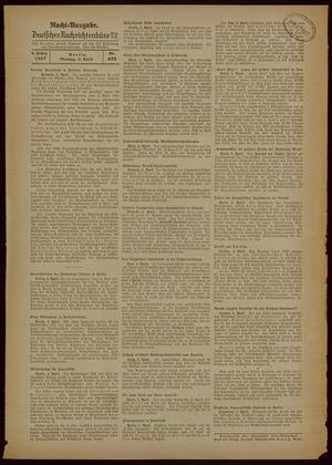 Deutsches Nachrichtenbüro vom 05.04.1937