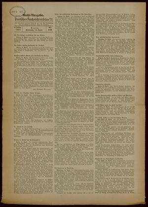 Deutsches Nachrichtenbüro vom 14.04.1937