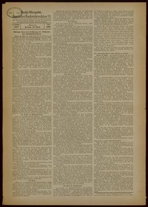 Deutsches Nachrichtenbüro vom 16.04.1937