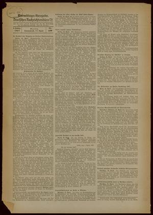 Deutsches Nachrichtenbüro vom 17.04.1937