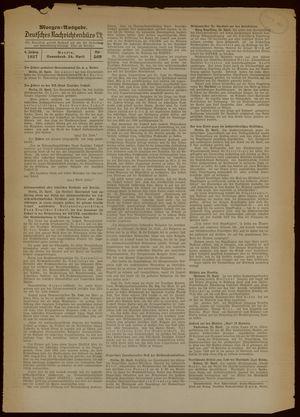 Deutsches Nachrichtenbüro vom 24.04.1937