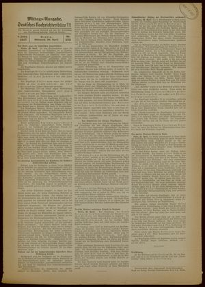 Deutsches Nachrichtenbüro vom 28.04.1937