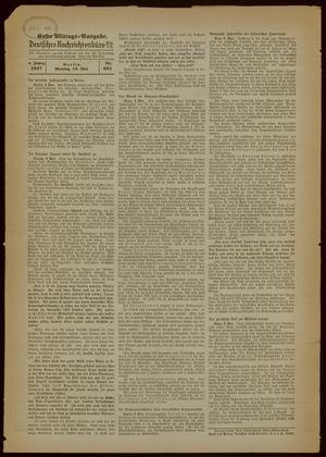 Deutsches Nachrichtenbüro vom 10.05.1937