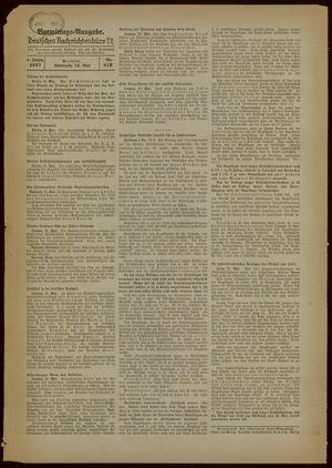 Deutsches Nachrichtenbüro on May 12, 1937