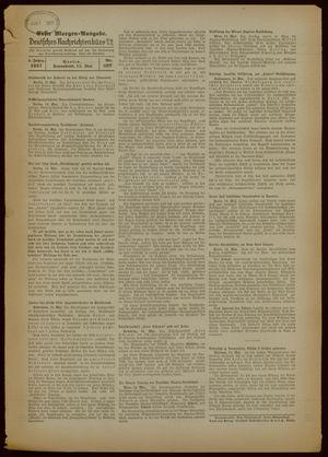 Deutsches Nachrichtenbüro vom 15.05.1937