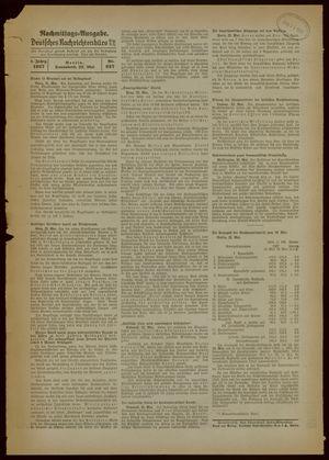 Deutsches Nachrichtenbüro vom 22.05.1937
