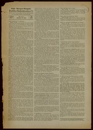 Deutsches Nachrichtenbüro vom 24.05.1937