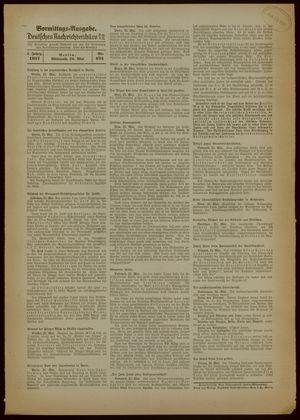 Deutsches Nachrichtenbüro vom 26.05.1937