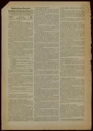 Deutsches Nachrichtenbüro vom 28.05.1937
