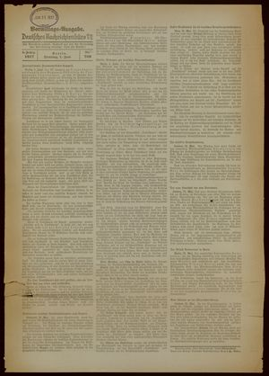 Deutsches Nachrichtenbüro on Jun 1, 1937