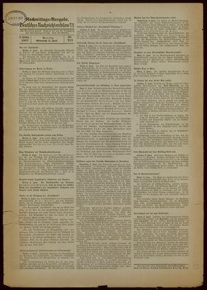 Deutsches Nachrichtenbüro vom 02.06.1937