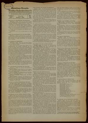 Deutsches Nachrichtenbüro vom 04.06.1937
