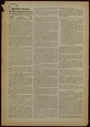 Deutsches Nachrichtenbüro vom 15.06.1937