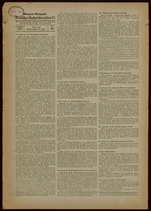 Deutsches Nachrichtenbüro vom 17.06.1937