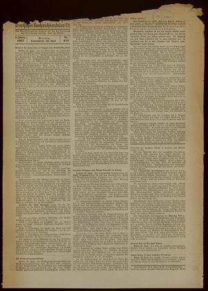Deutsches Nachrichtenbüro vom 19.06.1937
