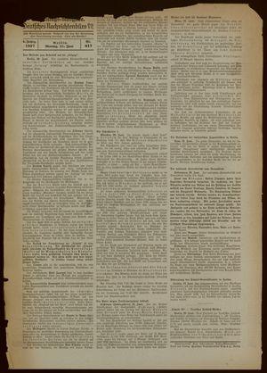 Deutsches Nachrichtenbüro on Jun 21, 1937