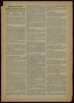 Deutsches Nachrichtenbüro vom 22.06.1937