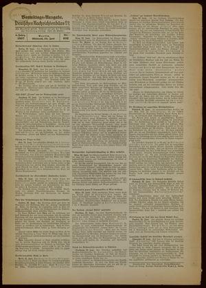 Deutsches Nachrichtenbüro vom 23.06.1937