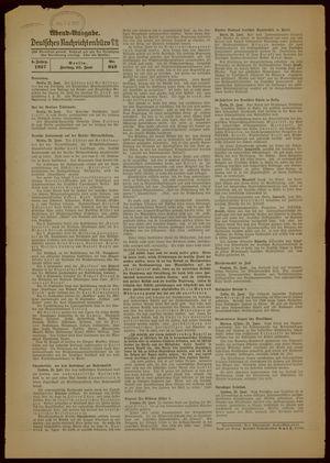 Deutsches Nachrichtenbüro vom 25.06.1937