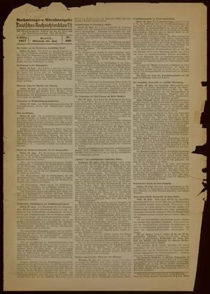 Deutsches Nachrichtenbüro vom 30.06.1937