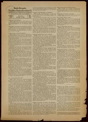 Deutsches Nachrichtenbüro vom 02.07.1937