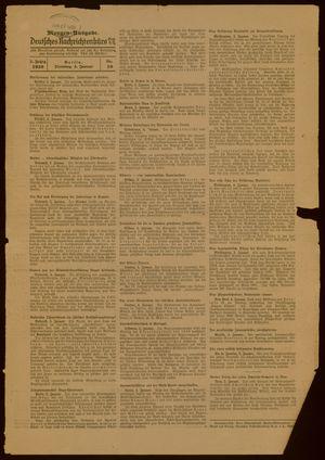 Deutsches Nachrichtenbüro vom 04.01.1938